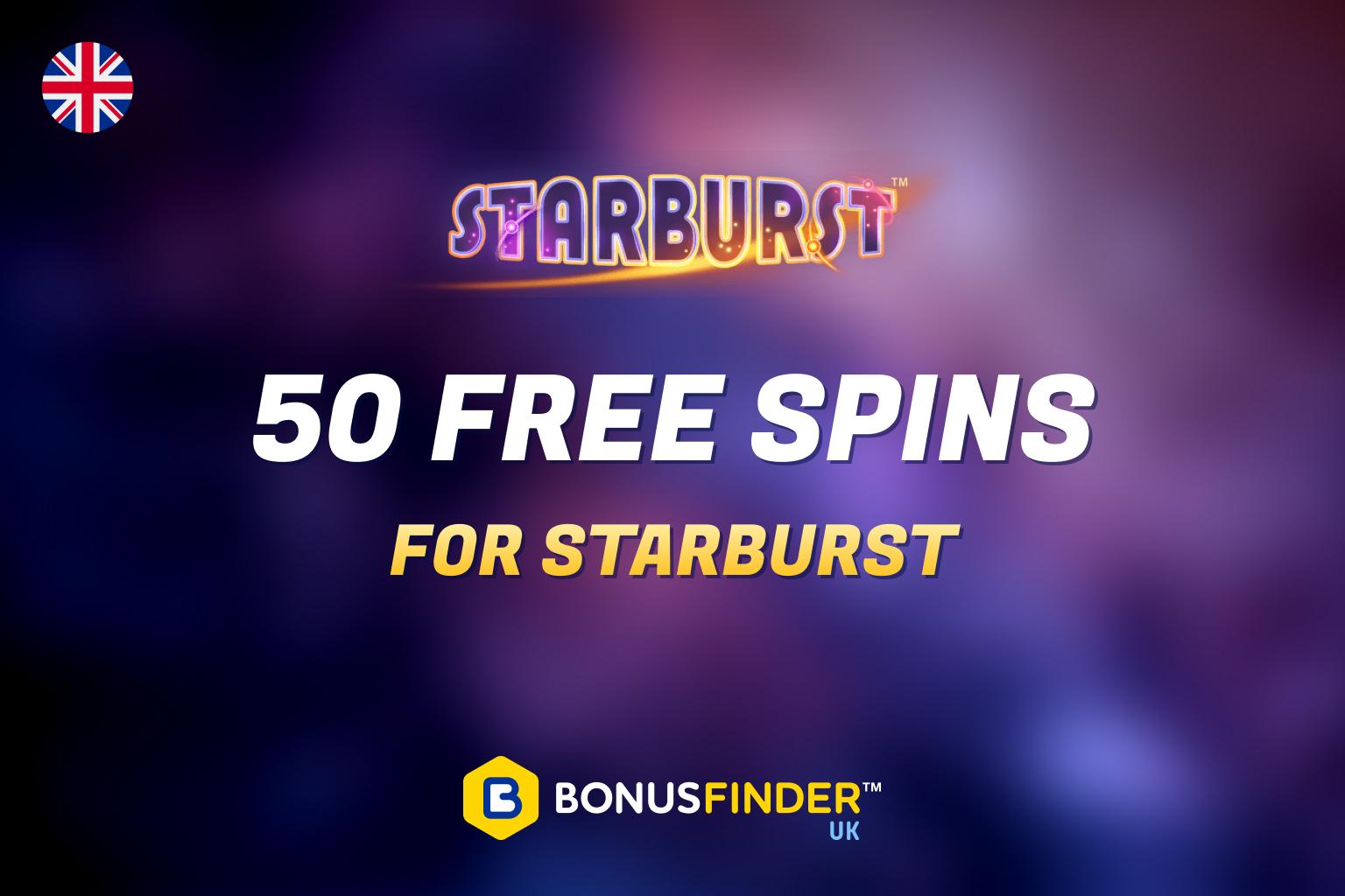 Starburst slot free spins