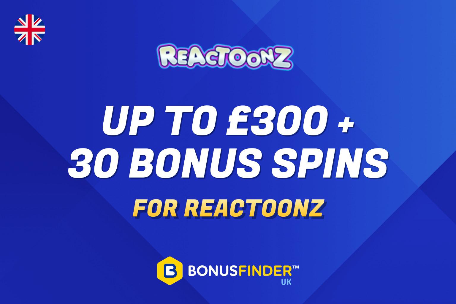 reactoonz free spins