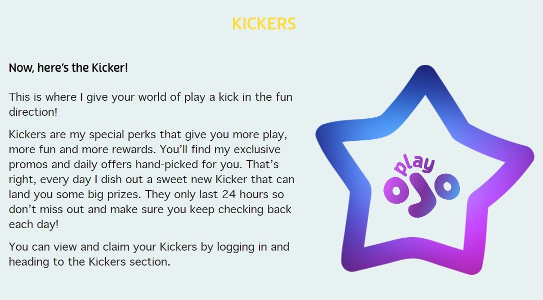 play ojo kicker code