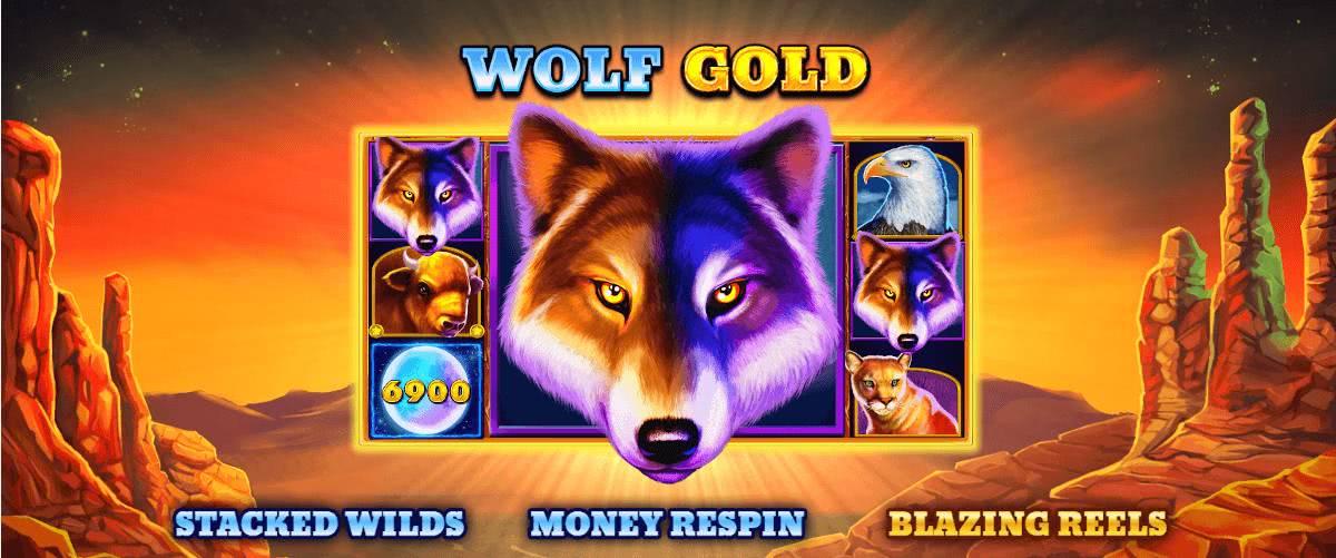 wolf gold symbols