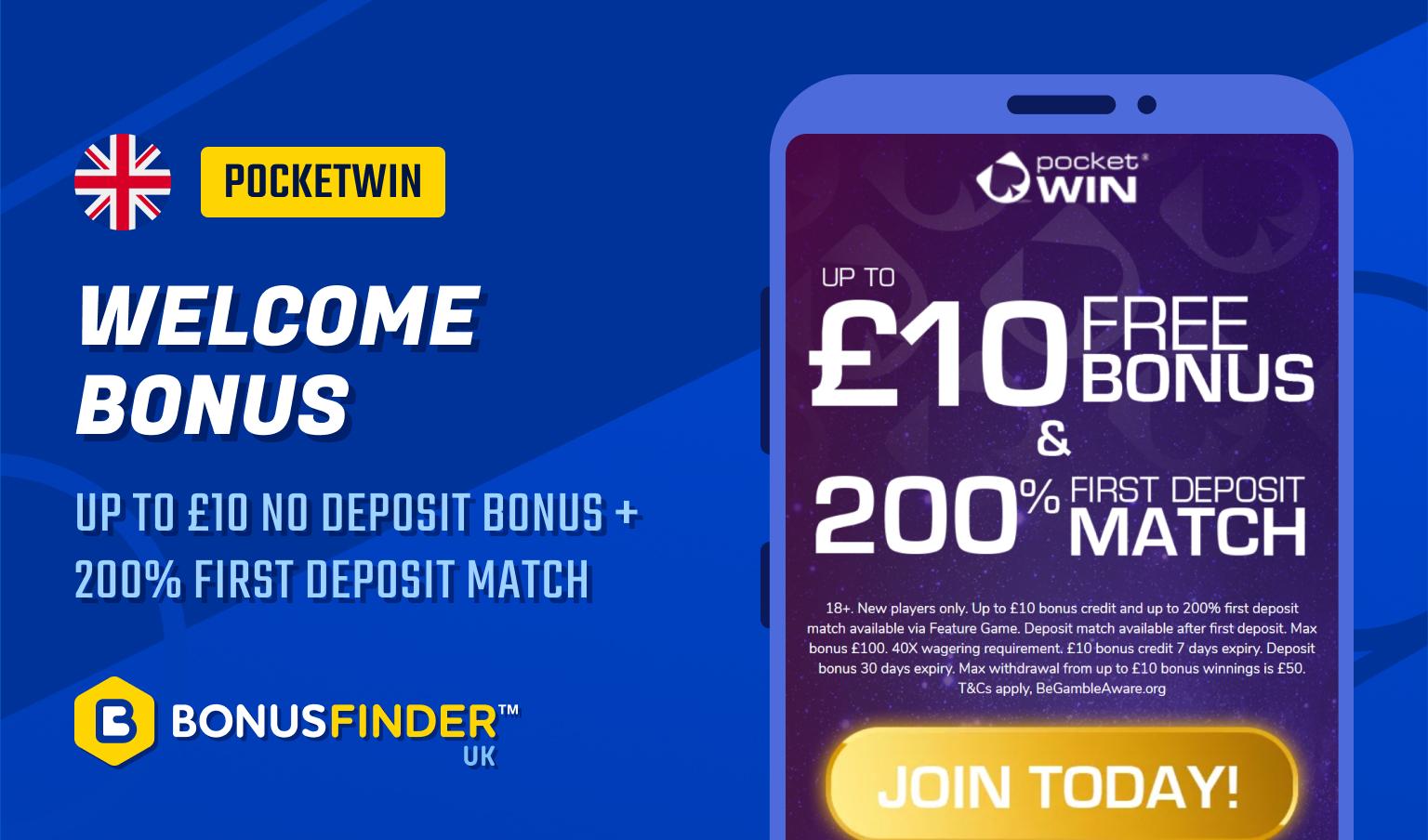 free £10 no deposit slot bonus uk 2021