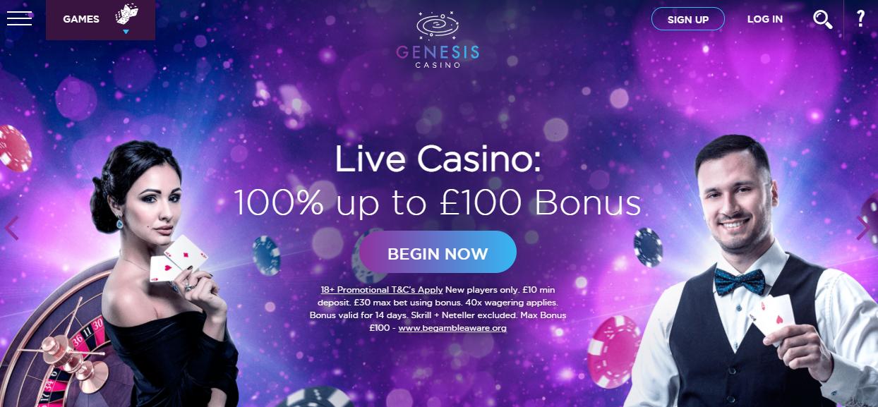 genesis casino uk