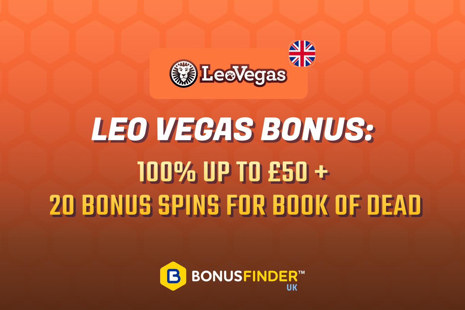 leovegas free spins bonus