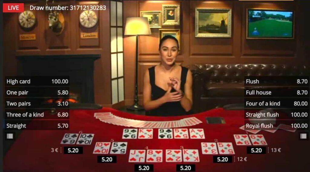 live dealer casinos uk