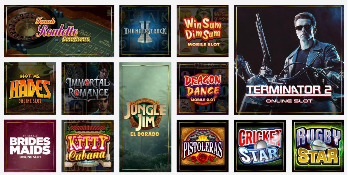 luxury casino online games