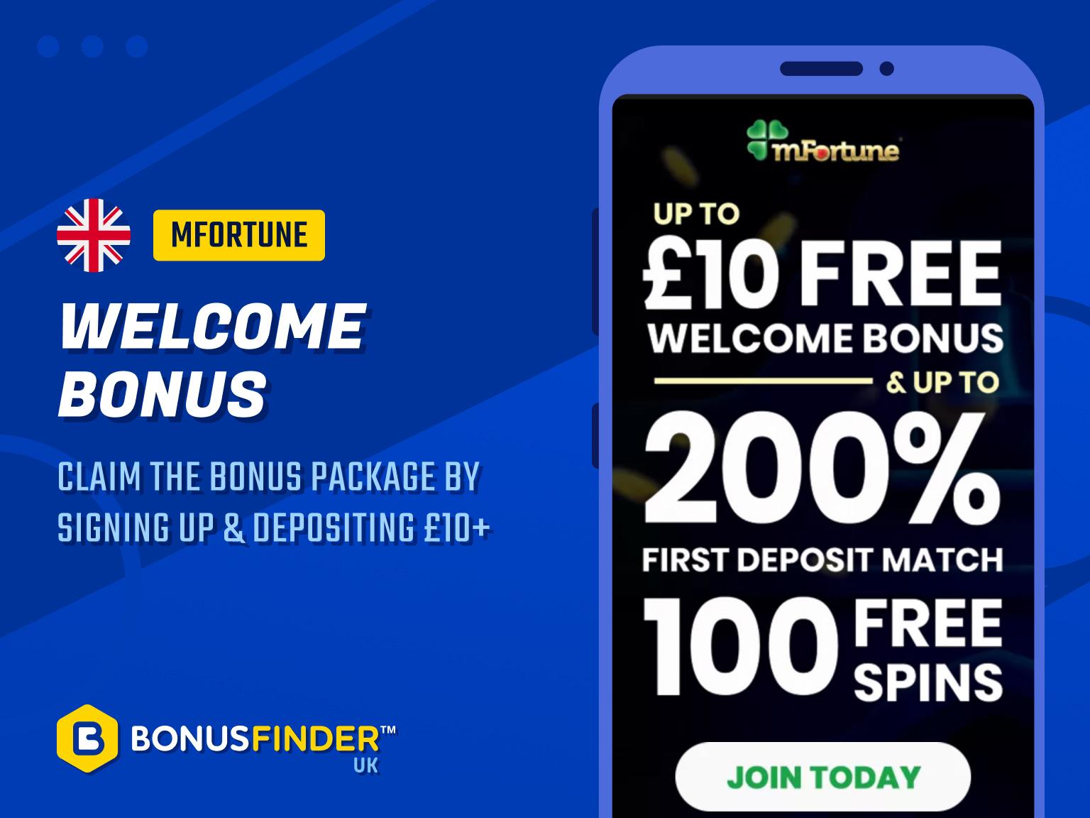 mfortune bonus