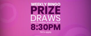 Win stuff in mfortune's weekly bingo prize draw