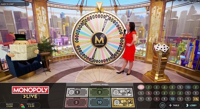 live dealer monopoly