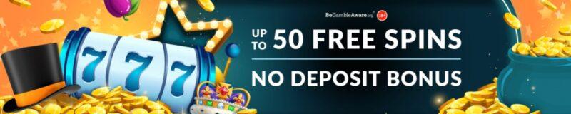 Get 50 no deposit free spins on mr spin