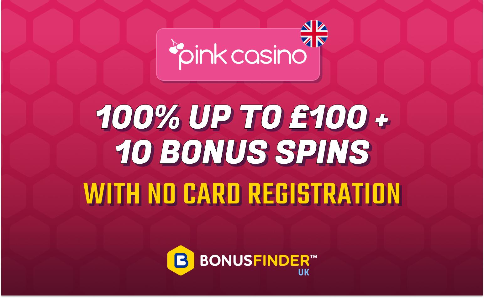 no card registration bonus on first deposit