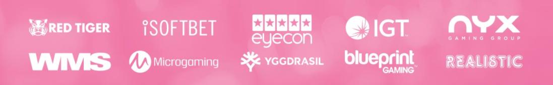 pink casino game providers