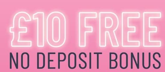 Get the pink casino no deposit bonus when you register an account