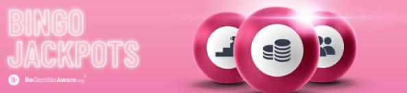How do pink casino bingo jackpots work?