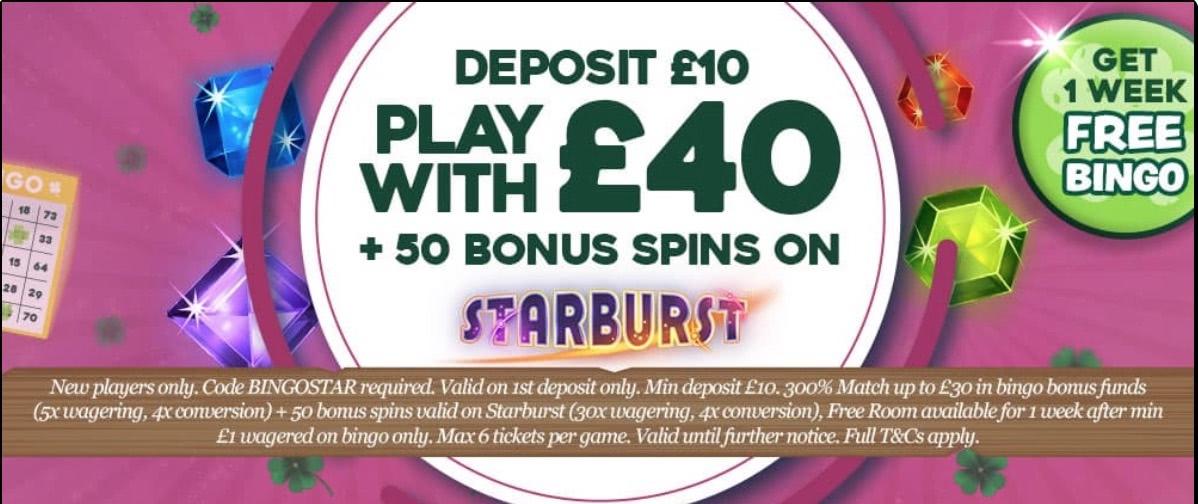 pots of luck bingo bonus