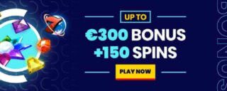 Get up to £300 + 150 Free Spins through the trada welcome package