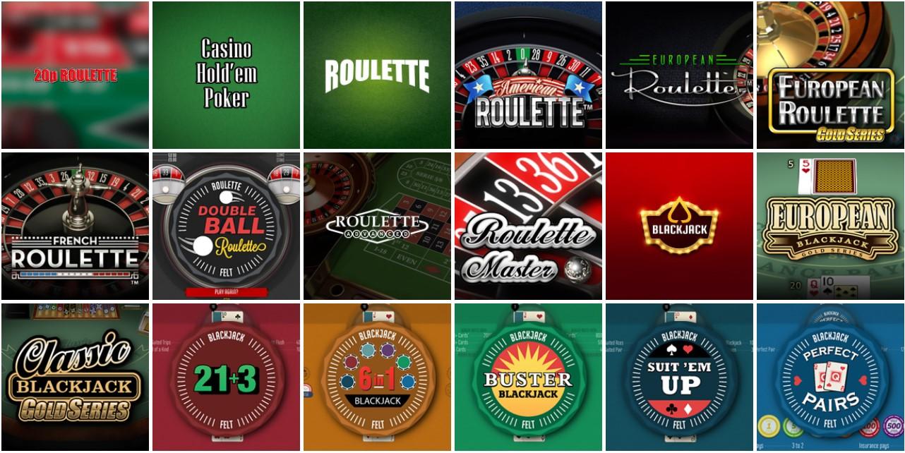 skol casino table games