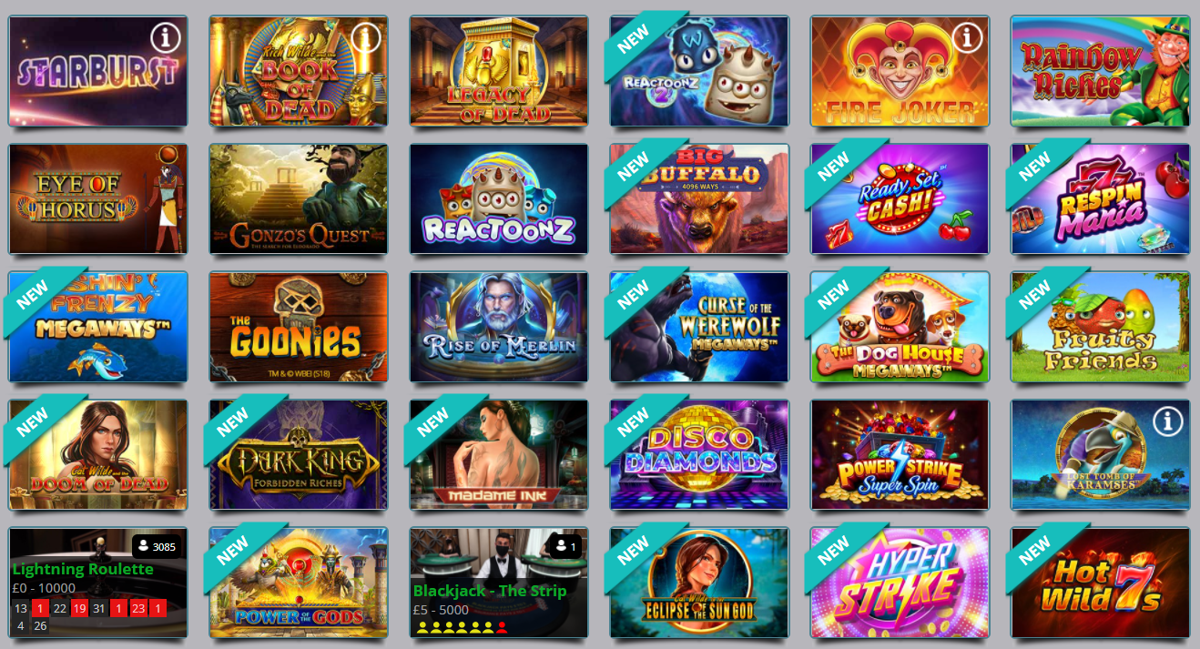 first deposit casino games