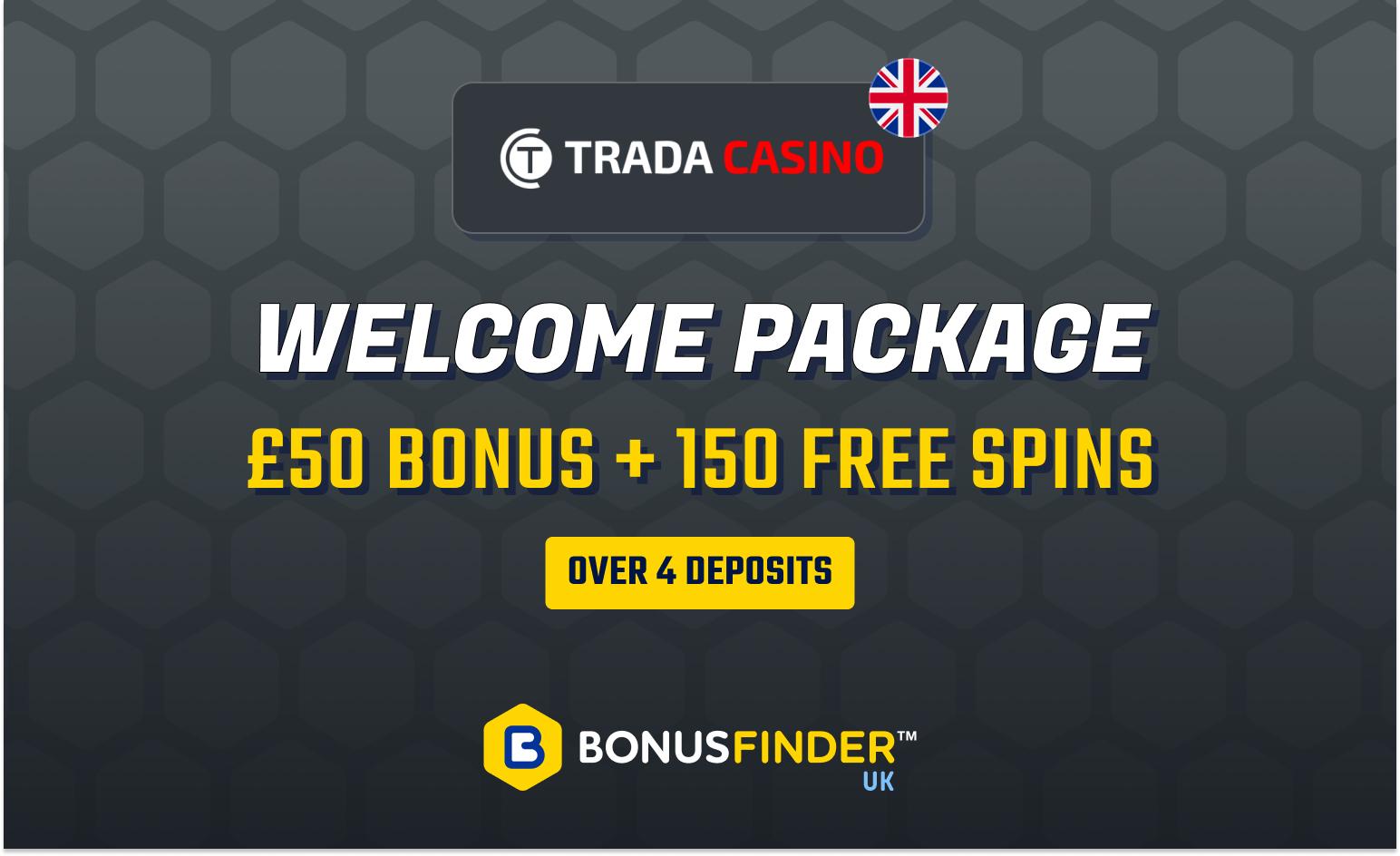 trada casino bonus