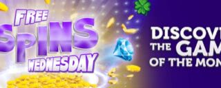 Receive free spins on Winomania's slot of the week every Wednesday